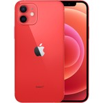 Smartphone Apple iPhone 12, 64GB, 5G, Red, nanoSIM si eSIM