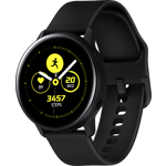 "Smartwatch Samsung Galaxy Watch Active, Procesor Dual-Core 1.15GHz, Super AMOLED 1.1"", 750MB RAM, 4GB Flash, Bluetooth, Wi-Fi, Tizen (Negru)"