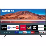 Televizor Led Samsung 139 cm 55TU7172, Smart Tv, 4K Ultra HD, Argintiu