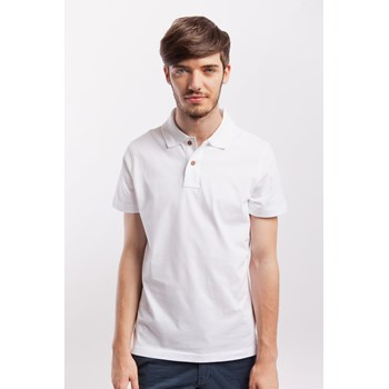 Tricou polo barbati James Nicholson alb