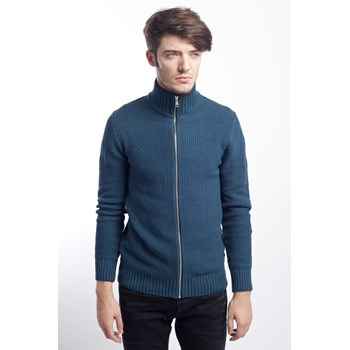 Jacheta casual barbati Jack & Jones bleumarin
