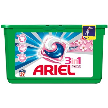 Ariel Detergent gel capsule Pods Touch of Lenor 81556771, 39 buc x 29ml