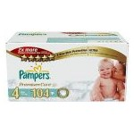 Scutece Pampers 4 Premium Care 7-14kg Mega Box (104)