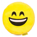Perna decorativa Emoji Smiley Happy Face Textil Galben DRLR68BBM