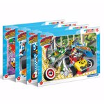 Puzzle Clementoni - Disney Mickey, Roadster racers, 60 piese
