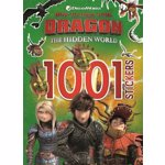 How to Train Your Dragon The Hidden World: 1001 Stickers, Paperback