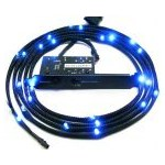 Accesoriu carcasa NZXT Sleeved LED Lighting Kit Blue