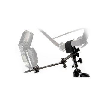Lastolite Trigrip Holder with Flash Bracket LA2430 - suport blit si blenda / umbrela