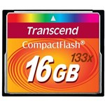 Card de Memorie Transcend Compact Flash 16GB 133X ts16gcf133