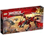 LEGO 70653 NINJAGO Firstbourne Playset, Dragon and Hunter Helicopter Toy, Build and Play Dragon Toys for Kids