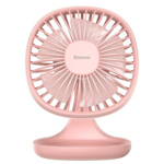 Ventilator Baseus Pudding Shaped Fan Pink