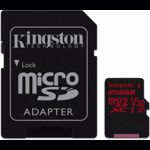 Card memorie Kingston MICROSD 256GB CLASS 10 UHS-I SDCR/256GB