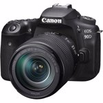 Aparat foto DSLR Canon EOS 90D 32.5 Mpx Kit 18-135 IS USM