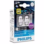 Set 2 becuri led Philips W5W X-tremeUltinon 6000k 12v 127996000KX2