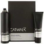 Set Tigi Catwalk Runway Texture contine sampon uscat si crema styling Session Series Transforming Dry