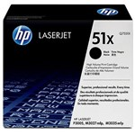 HP Q7551X TONER CARTRIGE BLACK up to 13,000 pages; for LJ P3005/M3035mfp/M3027mfp Q7551X