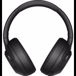 Casti SONY WH-XB900NB, Bluetooth, NFC, Over-Ear, Microfon, Noise Cancelling, Extra BASS, Negru