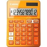 Calculator birou Canon LS123KOR portocaliu, 12 digiti, ribbon