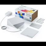 Kit panouri luminoase modulare inteligente Nanoleaf Canvas Smarter Kit, LED RGBW, Wi-Fi, compatibil iOS/Android, 9 panouri