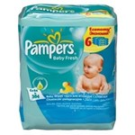 PAMPERS Servetele umede Baby Fresh 6x64 buc