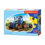 Puzzle Tractor, 15 piese