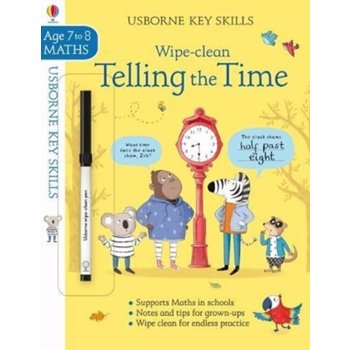 Wipe-clean Telling the Time 7-8, Paperback - Holly Bathie