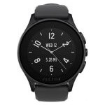 Smart Watch Vector Luna 44mm Negru Mat Curea Silicon Neagra l1-10-003