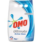 Detergent automat OMO Ultimate Active Clean Duo, 2kg