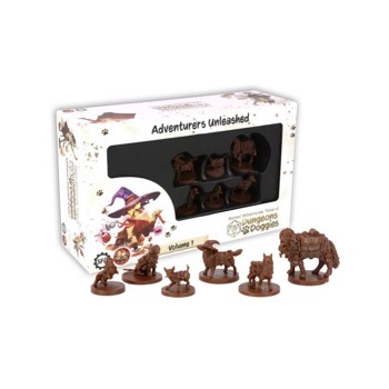 Joc Miniaturi Dungeons and Doggies Box 1
