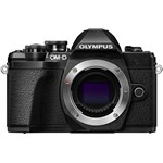 Aparat foto Mirrorless Olympus E-M10 Mark III Body 16.1 MP Negru v207070be000