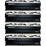 Memorie G.Skill Sniper X Quad Channel Kit 32GB (4x8GB) DDR4 3000MHz CL16 1.35v