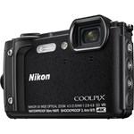 Aparat foto Nikon Coolpix W300 Holiday kit, negru