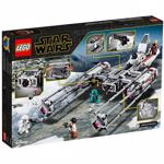 LEGO 75249 Star Wars Resistance Y-Wing Starfighter Battle Starship Building Set, The Rise of Skywalker Movie Collection