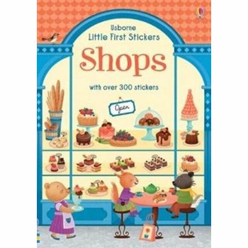 Little First Stickers Shops, Paperback