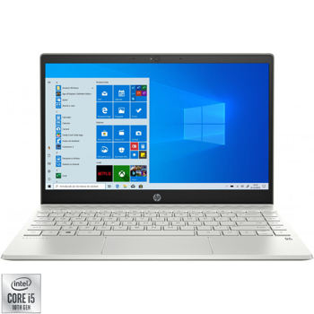 Ultrabook HP 13.3'' Pavilion 13-an1007nq, FHD IPS, Procesor Intel® Core™ i5-1035G1 (6M Cache, up to 3.60 GHz), 8GB DDR4, 256GB SSD, GMA UHD, Win 10 Home, Silver