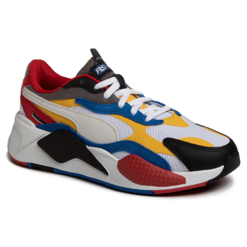 Sneakers PUMA - Rs-X³ Puzzle 371570 04 Pwhite/Spectra Yellow/Pblack