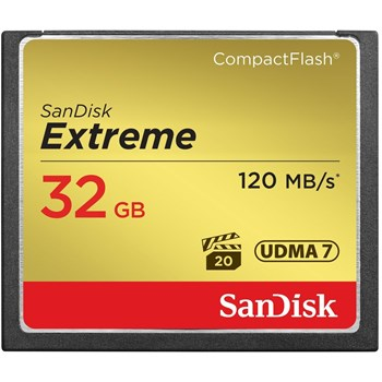 Card memorie SanDisk Extreme Compact Flash, 32GB