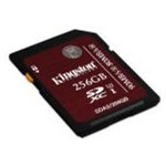 Card de memorie Kingston SDXC 256GB, scriere 80MB/s, citire 90 MB/s, class 3, UHS I