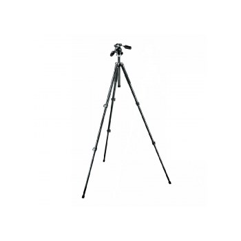 Trepied Manfrotto 294 Aluminum Kit Tripod 3 sections with 3 Way Head QR