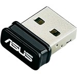 ASUS Adaptor Wireless N USB NANO, 802.11n, 150Mbps