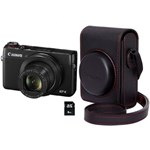 Aparat foto digital Canon PowerShot G7 X Mark II, 20.1MP, Premium Kit, Black