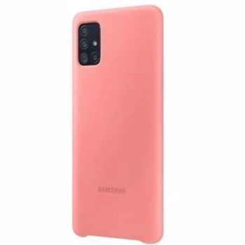 Husa Samsung A71; Silicone Cover; Pink