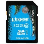 KINGSTON Card de memorie SDHC UHS-I Ultimate 32GB Clasa 10 UHS-I - SDA10/32GB