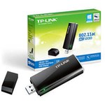 TP-LINK ARCHER T4U adaptor wireless Dual Band AC1200, USB