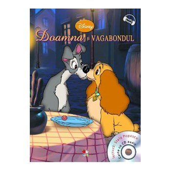 Disney - Doamna si Vagabondul (CD audio)