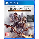 Joc consola Warner Bros Entertainment Middle Earth Shadow of War Definitive Edition PS4