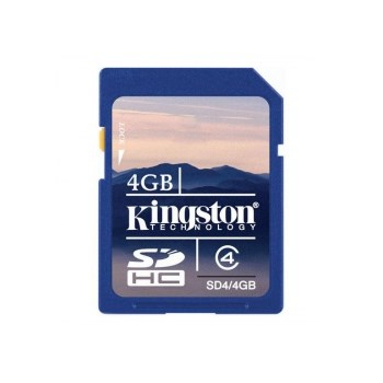 Kingston SDHC 4GB clasa 4 - card de memorie