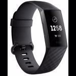 Bratara fitness Fitbit Charge 3, Graphite, Black