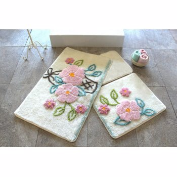 Set covorase baie Chilai Home by Alessia, 351ALS2104, Multicolor