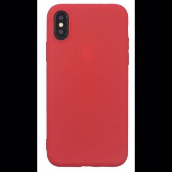 Husa Protectie Spate Just Must Silicon Candy pentru iPhone XS / X (Rosu)